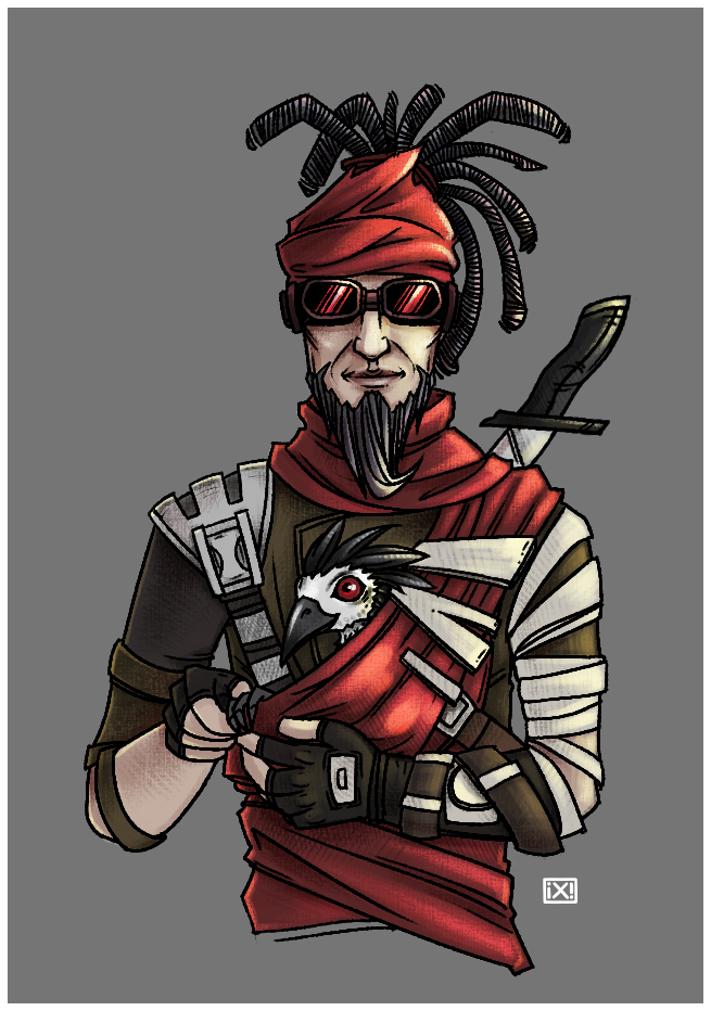 Borderlands: Mordecai by maryallen138