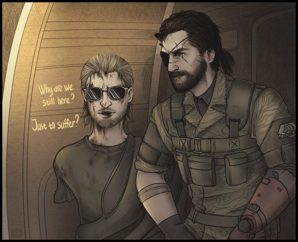MGSPP:Miller|Snake by maryallen138