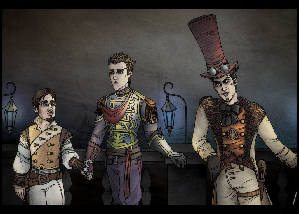 Tales from the Borderlands vs. Fable 3 by maryallen138