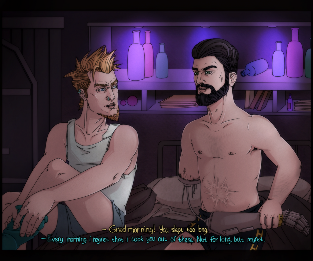 Tales from the Borderlands AU: Vasquez|August by maryallen138