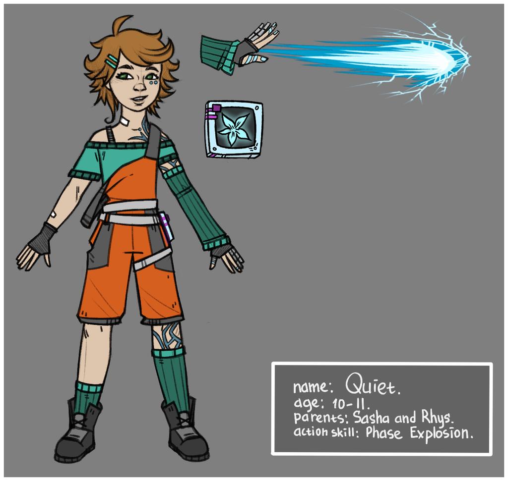 OC Quiet by maryallen138