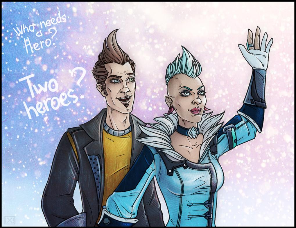 Two heroes! by maryallen138