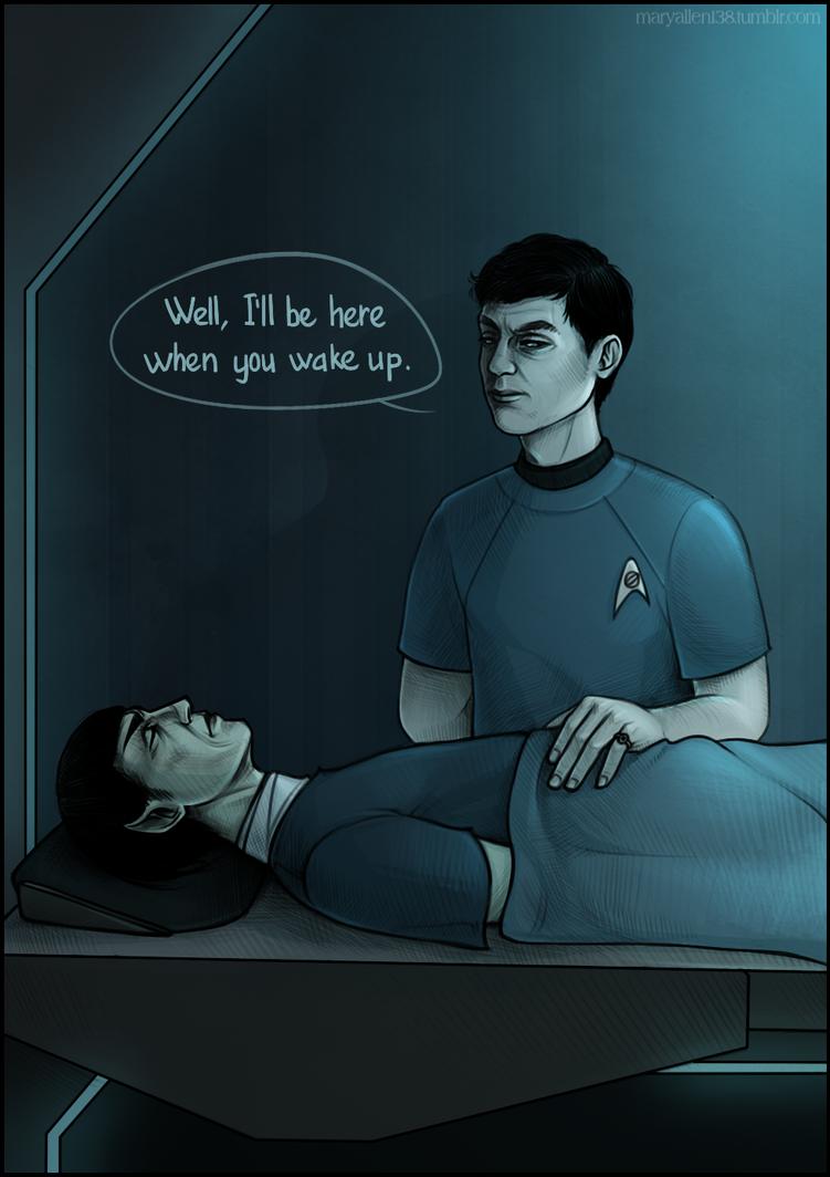 ST: Spock Bones by maryallen138