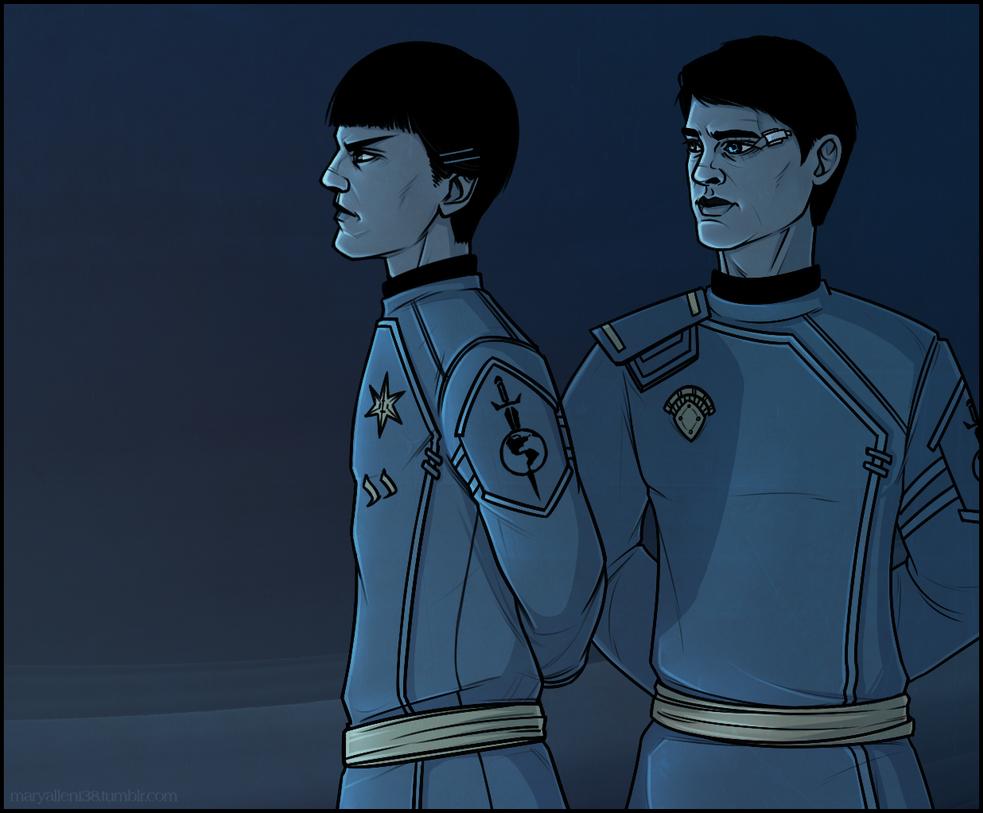 ST: Spock|Bones by maryallen138