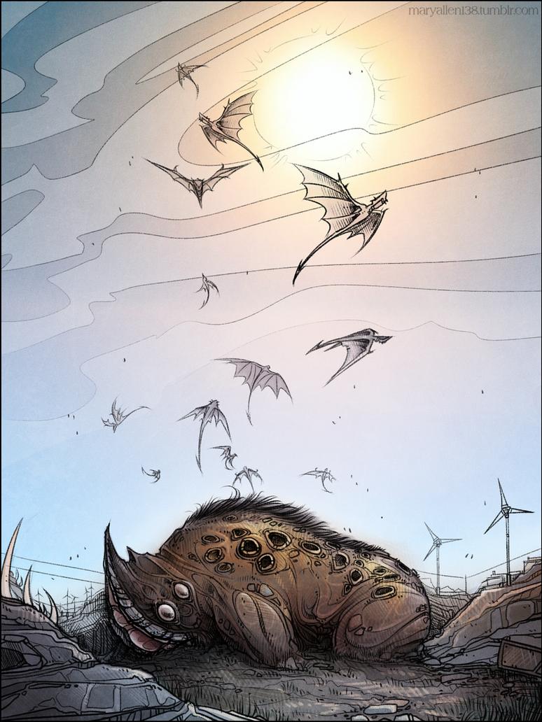 Borderlands: Rakk Hive by maryallen138