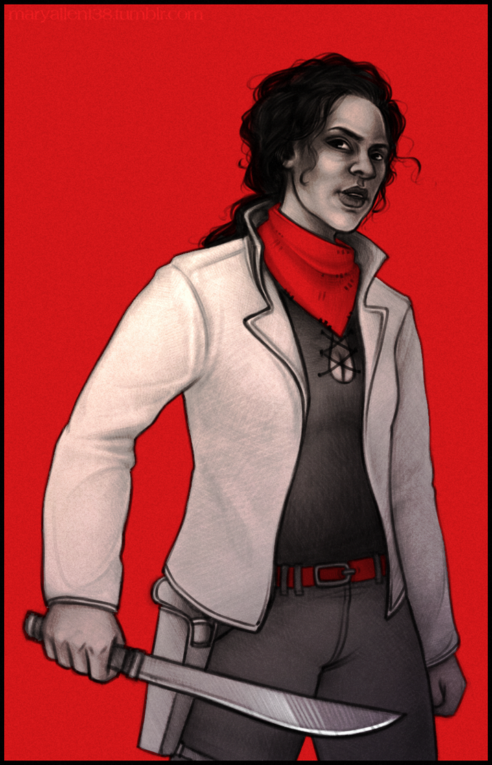 Z Nation: Roberta Warren by maryallen138