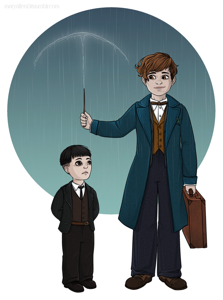 Newt|Credence by maryallen138