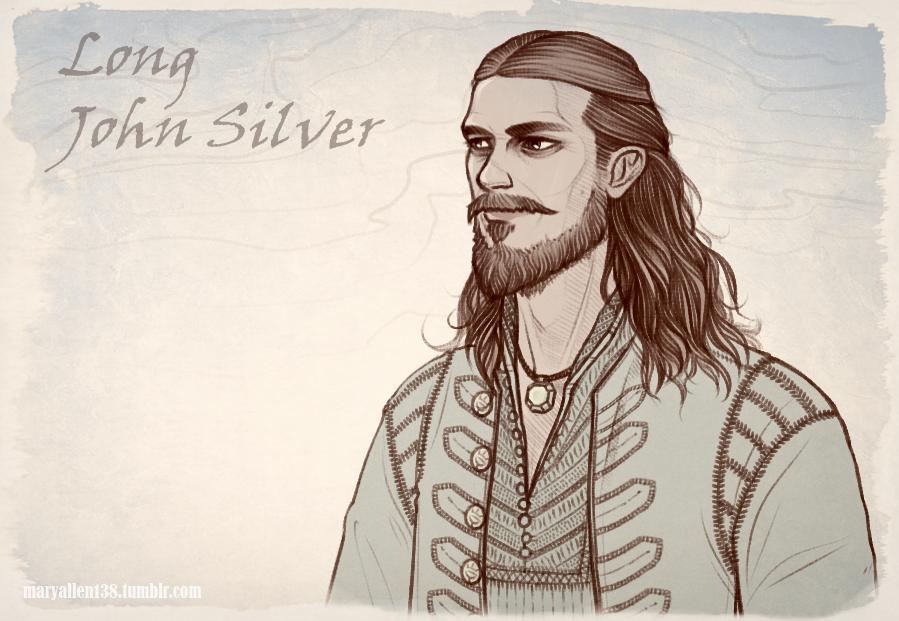 Black Sails: John Silver by maryallen138