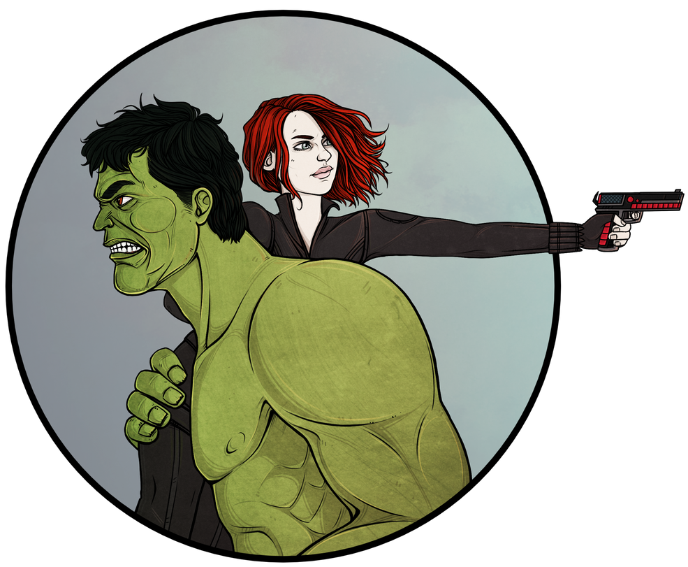 Natasha|Hulk by maryallen138