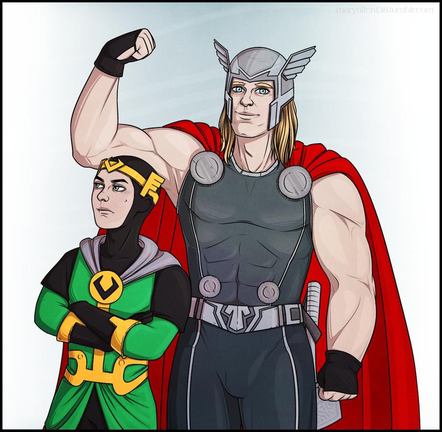 Kid Loki|Thor by maryallen138