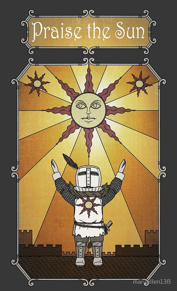 Solaire of Astora by maryallen138