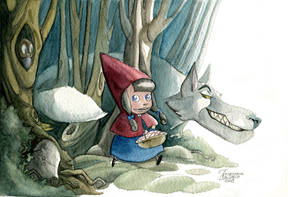 Little Red Riding Hood by FrancescaDaSacco