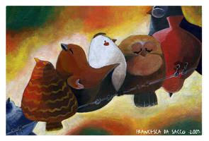 Birds by FrancescaDaSacco