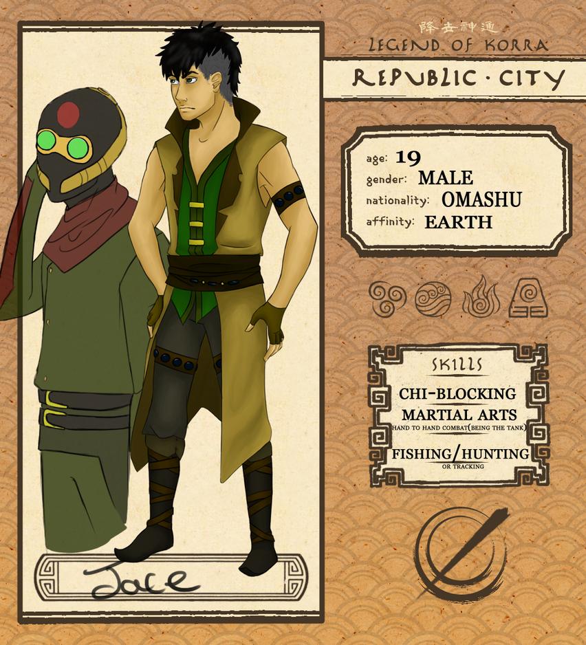 Republic City: Jace by Apolloyue