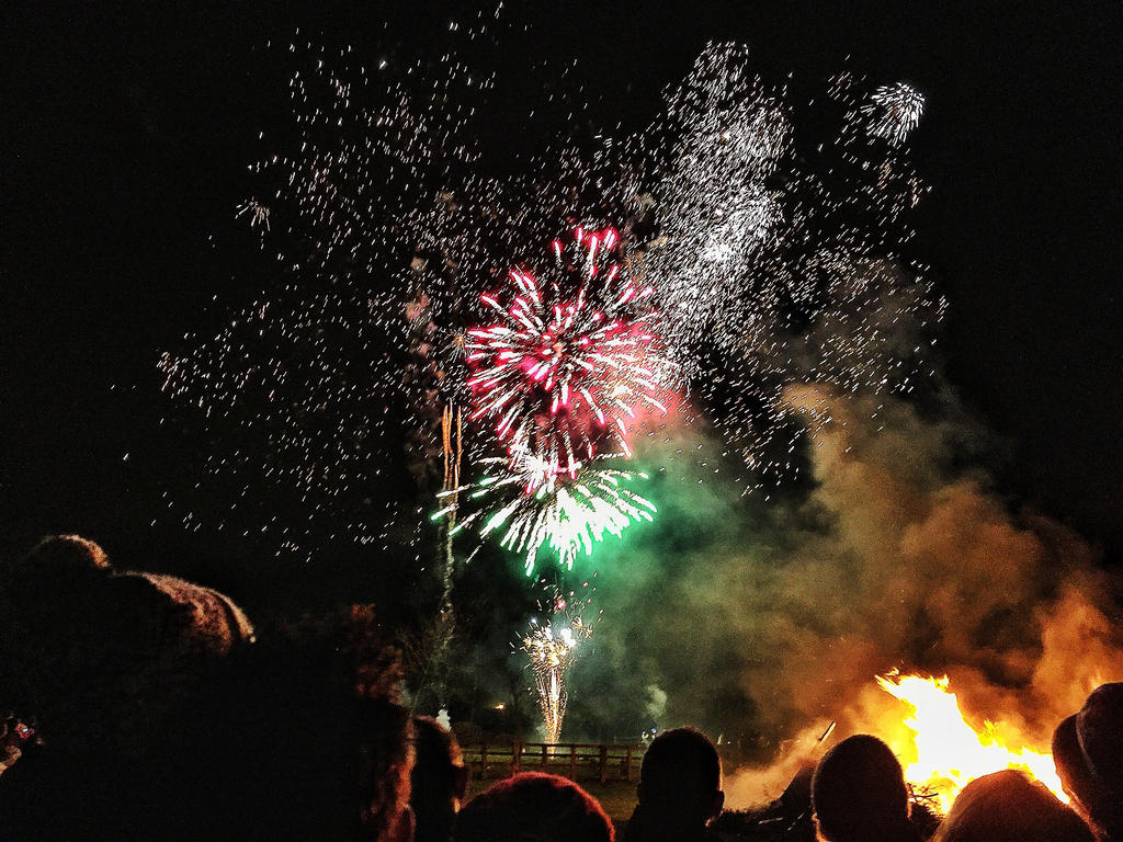 Fireworks by SteamChimp