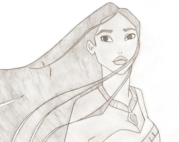 Disney Pocahontas Drawing Drawings Pocahontas Not