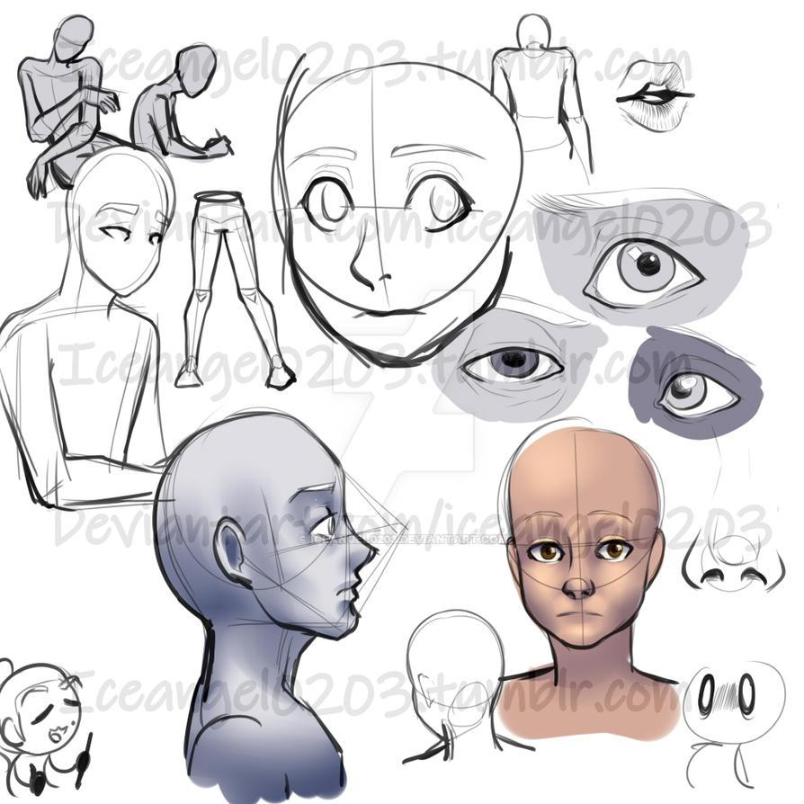 Doodles by IceAngel0203