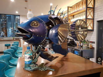 Steampunk Fish by Elephantis