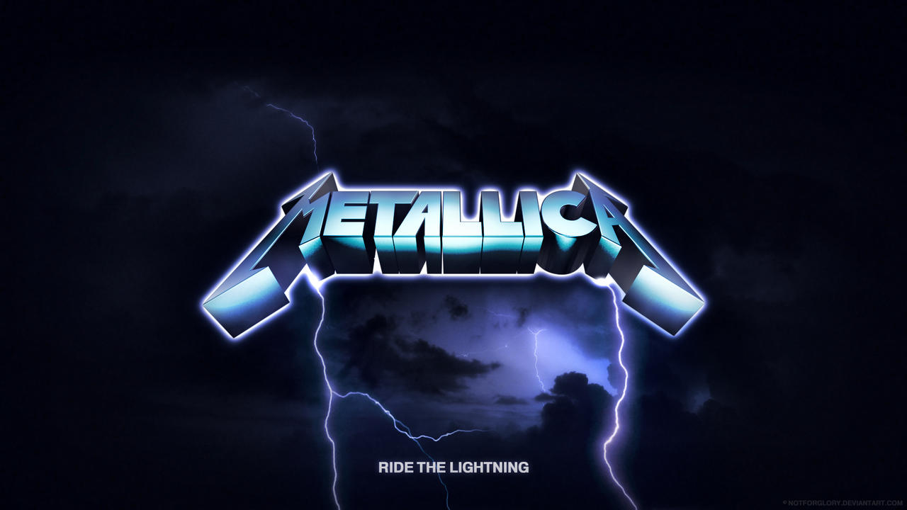 metallica lighting logo wallpaper - photo #4