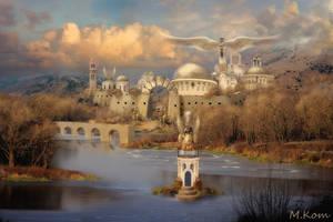 Castle of november by LittleKot