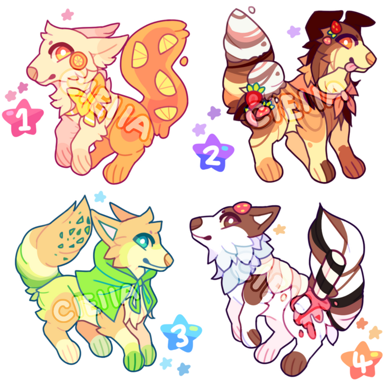 Dessert Adopts 004 // AUCTION // CLOSED by cieIIa