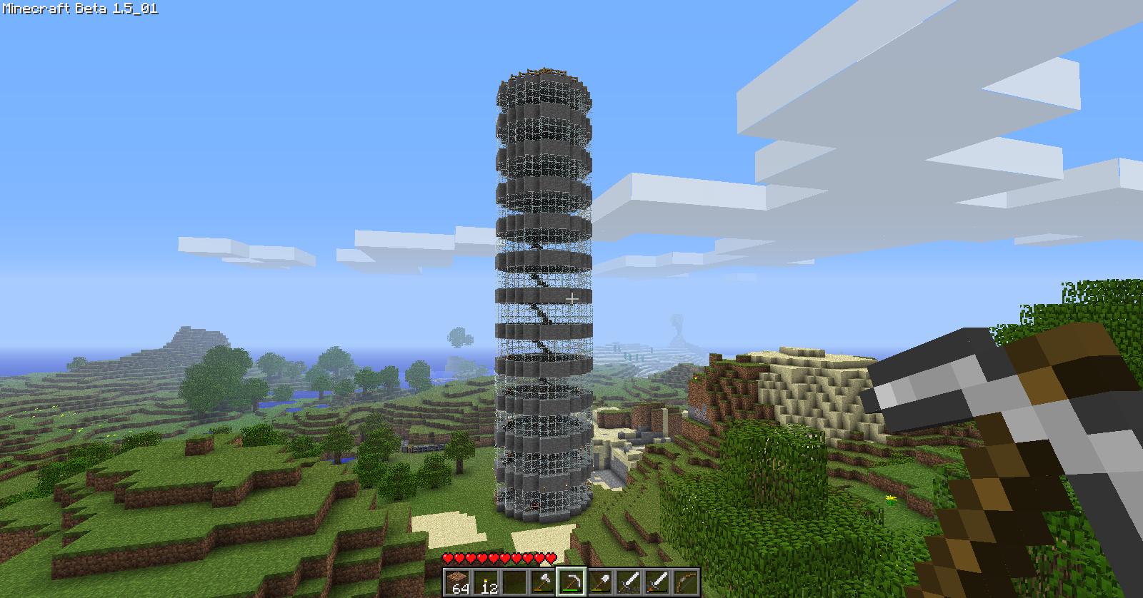 Minecraft Tower By Game BeatX14 On DeviantArt