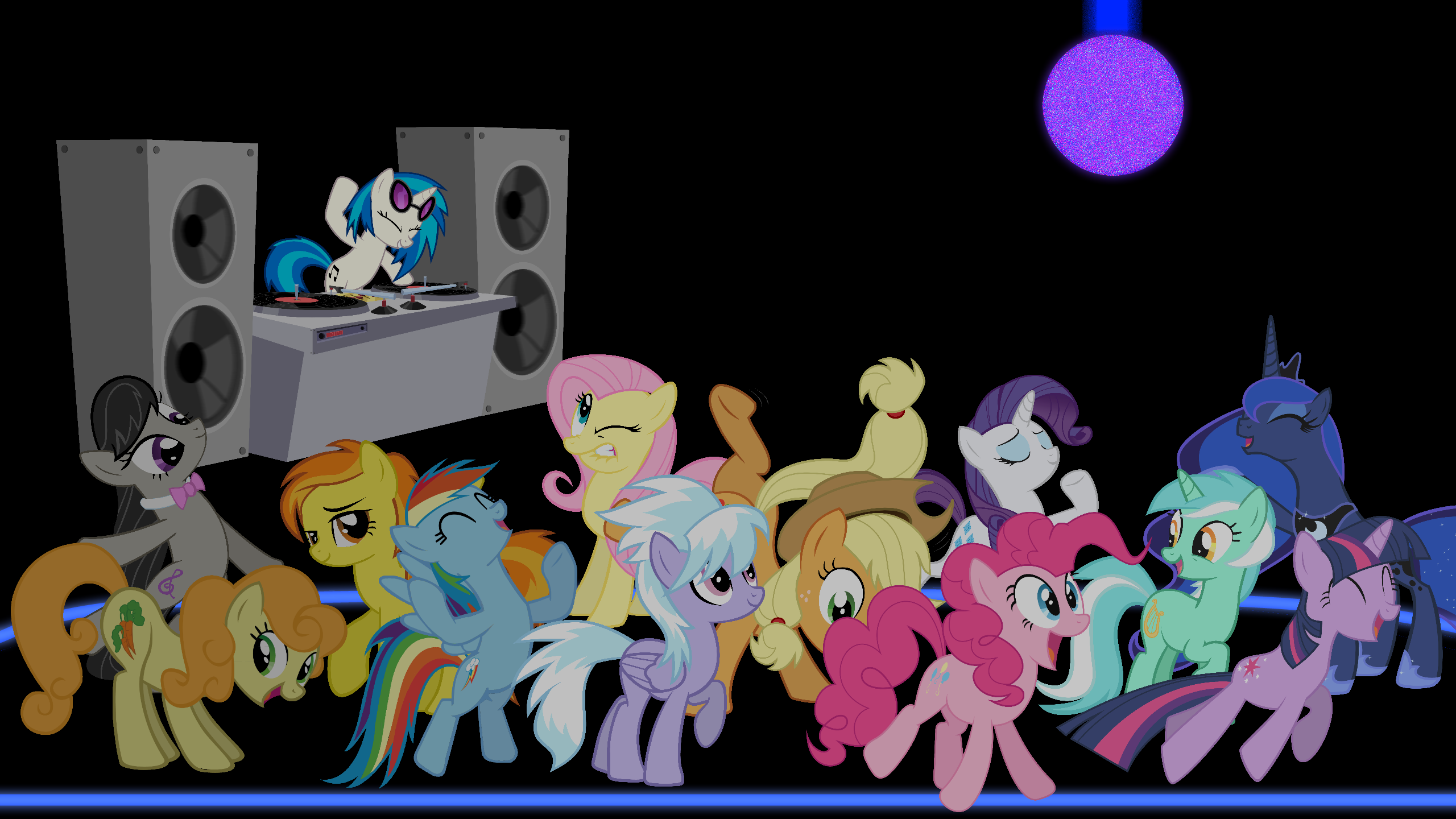 2 years of pony wallpapers in review by game beatx14 on for 1234 get on the dance floor video download