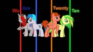 We Are Twenty Ten Wallpaper by Game-BeatX14