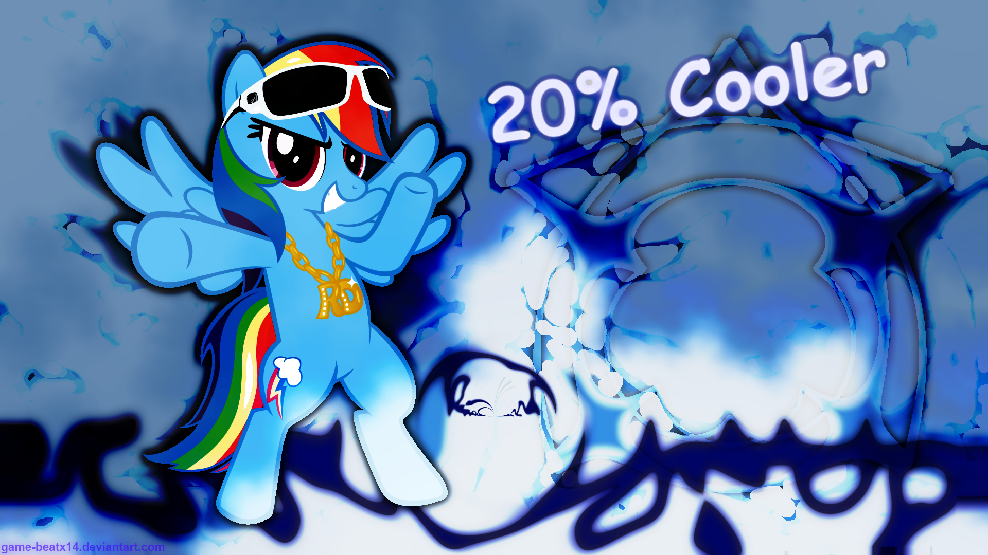 Rainbow Swag Wallpaper by Game-BeatX14