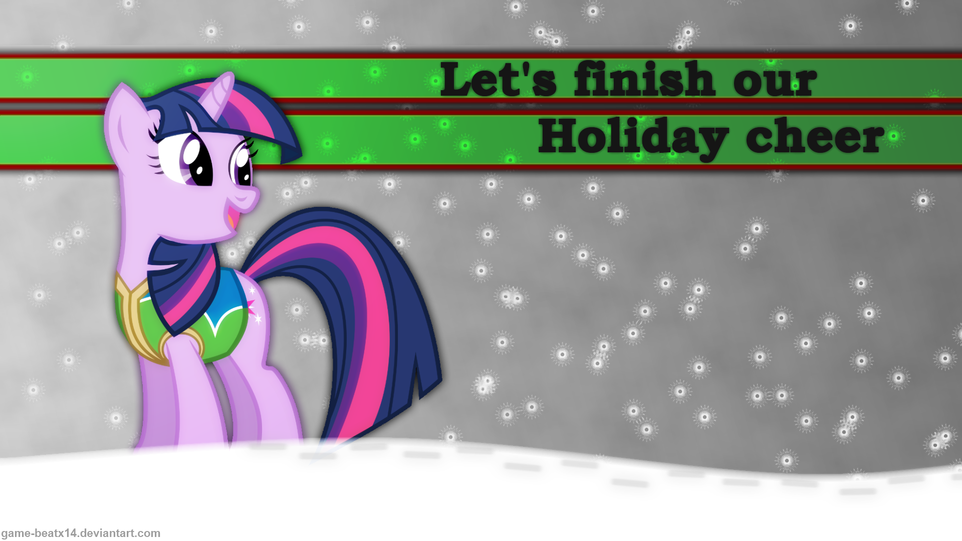 Winter Wrap Up Wallpaper by Game-BeatX14