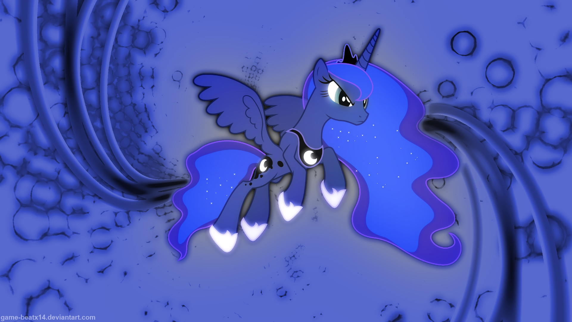 Princess Luna Wallpaper 2 by Game-BeatX14