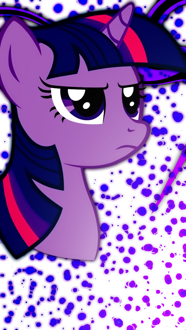iPhone 5 Twilight Sparkle Wallpaper by Game-BeatX14