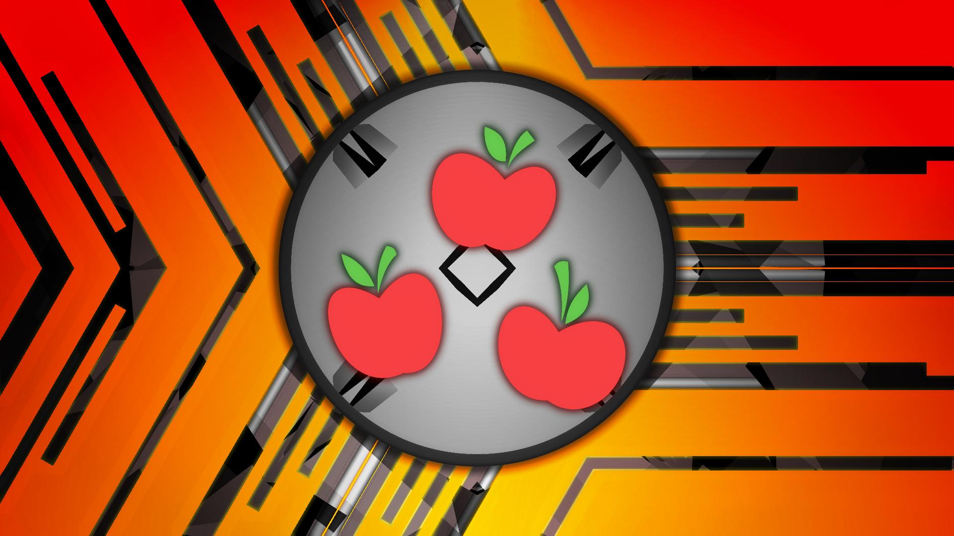 Applejack Cutie Mark Wallpaper by Game-BeatX14