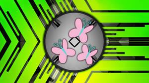 Fluttershy Cutie Mark Wallpaper