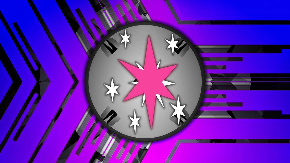 Twilight Sparkle Cutie Mark Wallpaper by Game-BeatX14