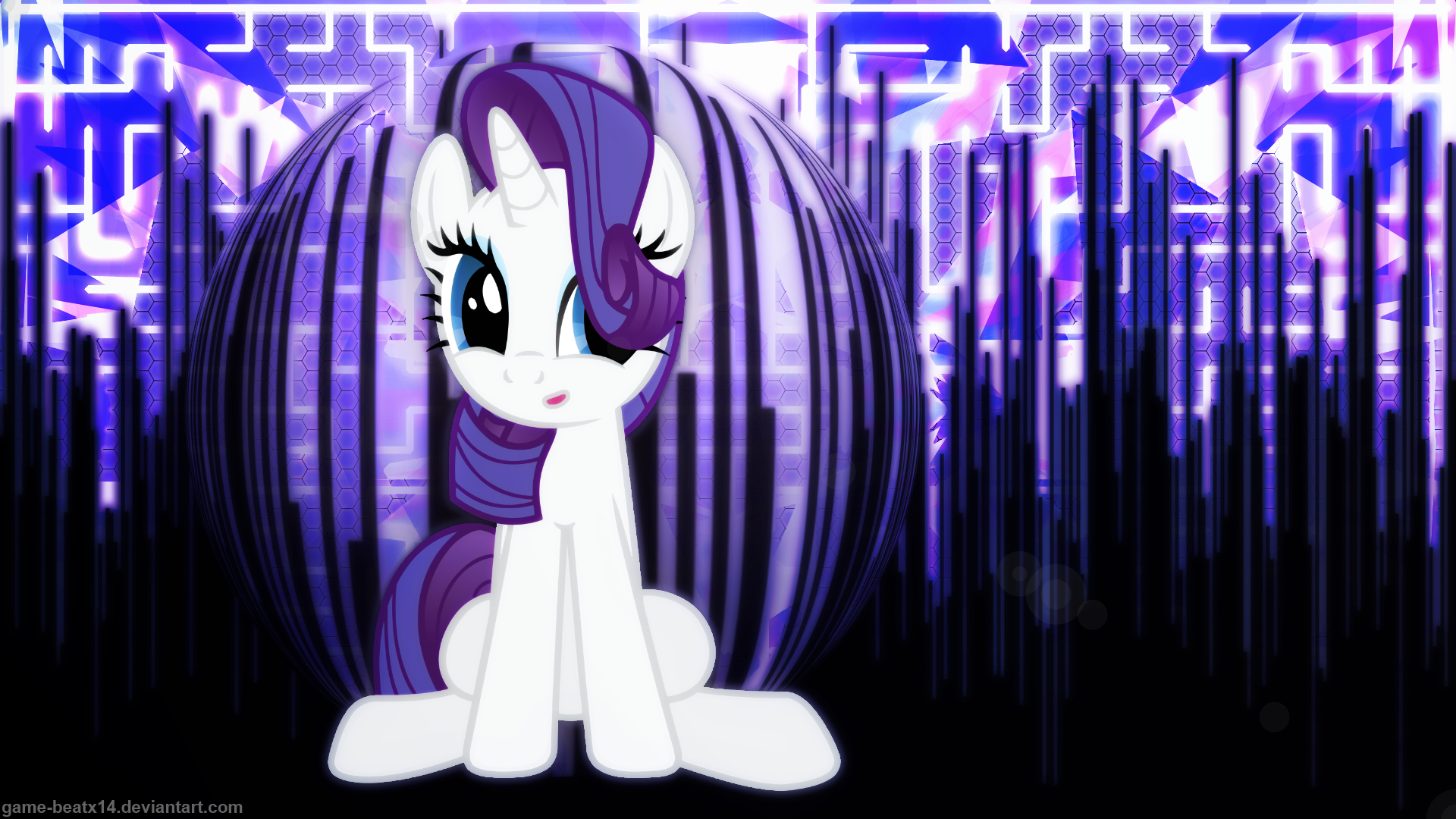 Rarity Wallpaper 3 by Game-BeatX14