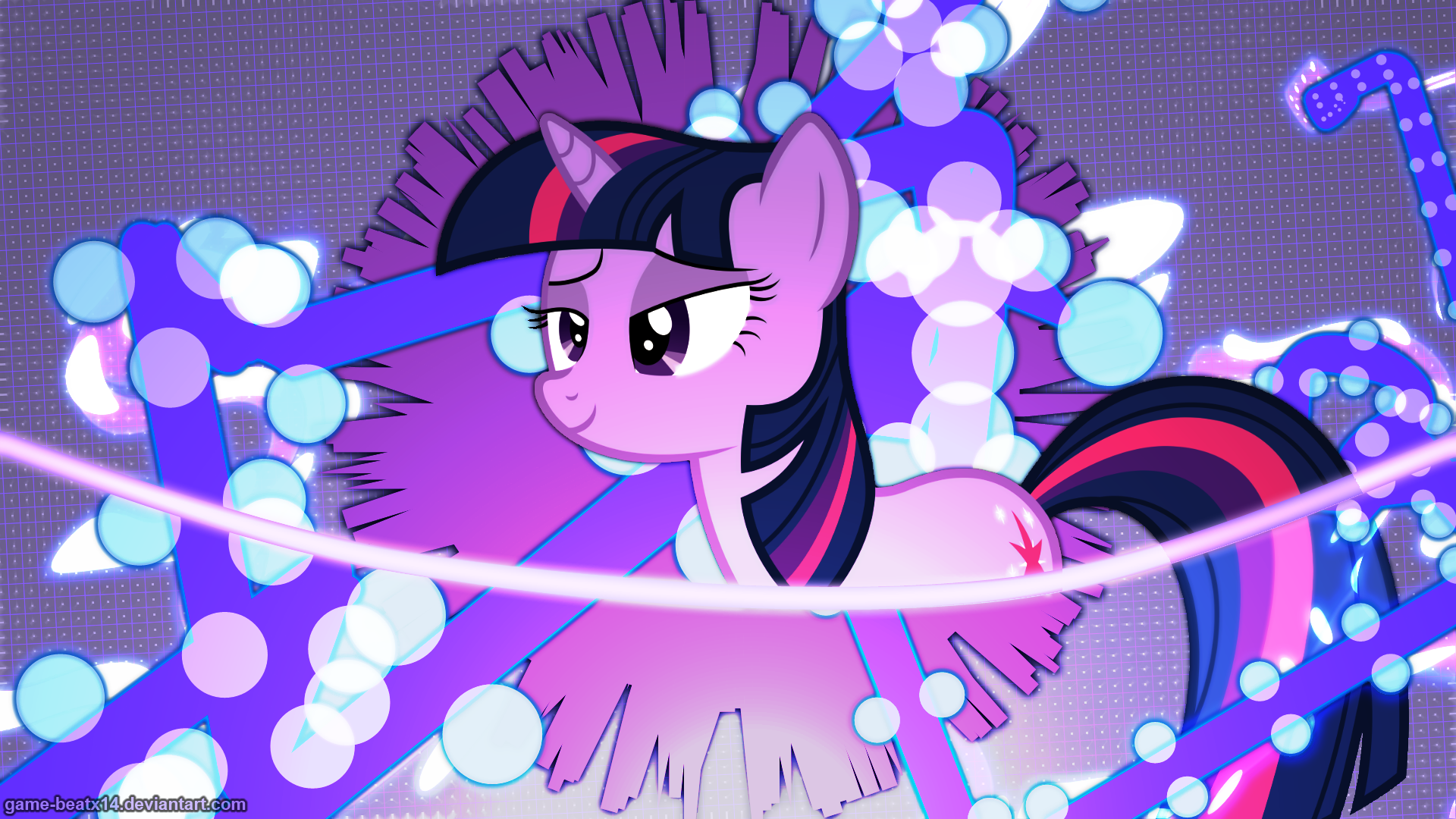 Twilight Sparkle Wallpaper 2 by Game-BeatX14