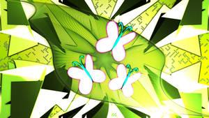 Fluttershy Cutie Mark Wallpaper 2