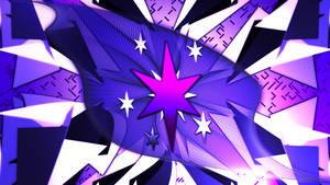 Twilight Sparkle Cutie Mark Wallpaper 2