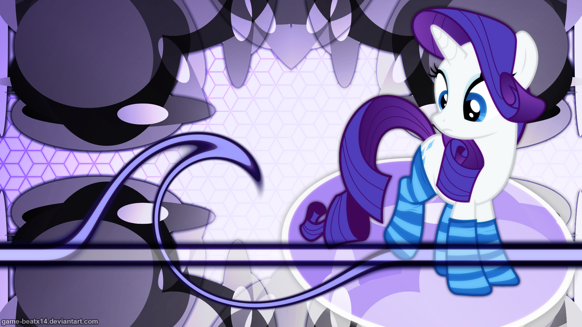 Rarity Wallpaper 4 by Game-BeatX14