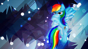 Glowy Dash Wallpaper