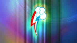 Rainbow Dash Cutie Mark Wallpaper 5