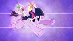 Spike and Twilight Flight