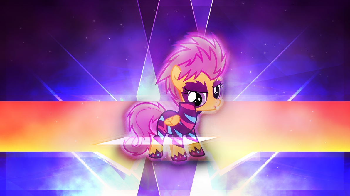 Concert Scootaloo by Game-BeatX14