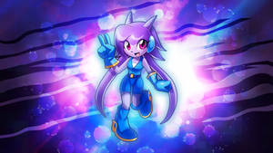 Freedom Planet - Lilac Wallpaper