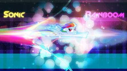 Sonic Rainboom by Game-BeatX14