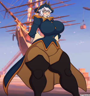 Treasure Planet - Captain Mel