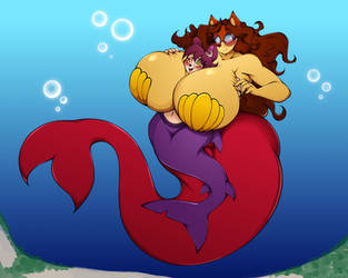 Mermaid Love by XSuperiX