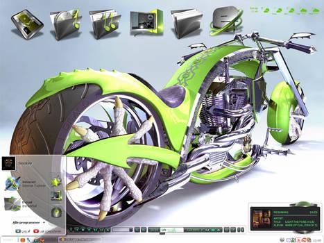 Dragon Chopper Concept