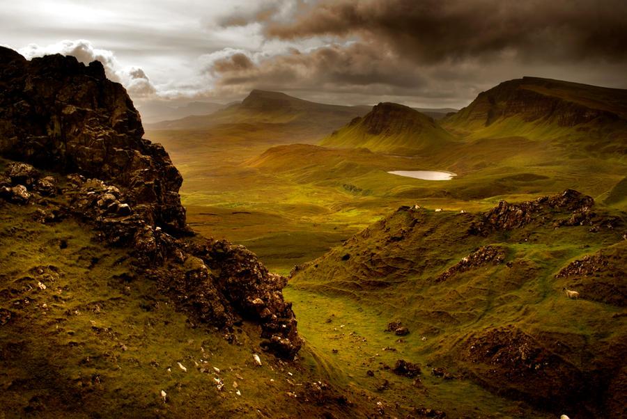 Scottish Hills By Potatop On Deviantart